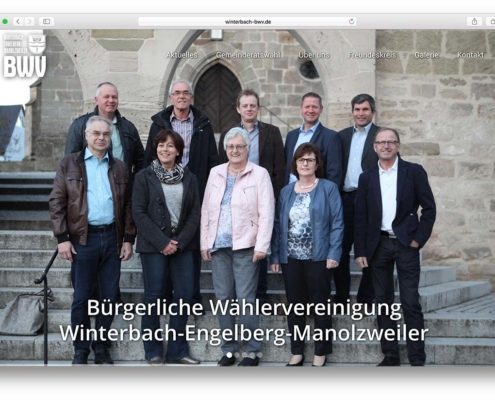 BWV Winterbach Website