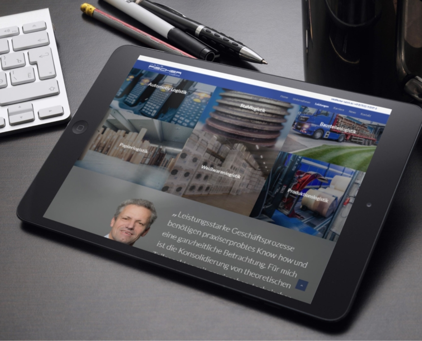 Fischer Logistics Tablet
